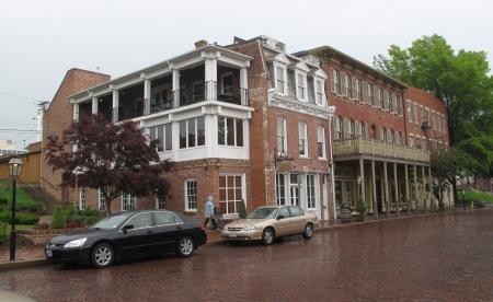 Main Street in St. Charles, Missouri