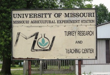University of Missouri turkey research center