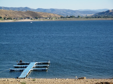 Echo Reservoir near Coalville in Utah