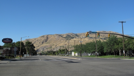 Street view in Salt Lake City