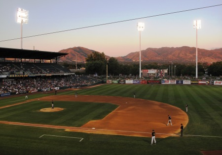 Salt Lake Bees at Spring Mobile Ballpark