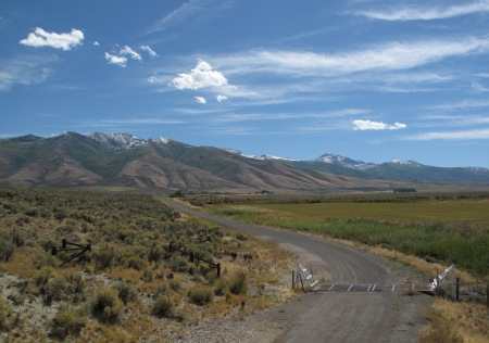 The Ruby Mountains near Elko, Nevada
