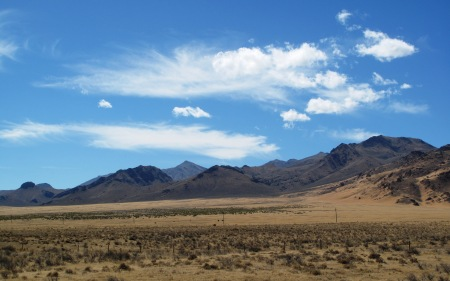 The desert outside Winnemucca, Nevada