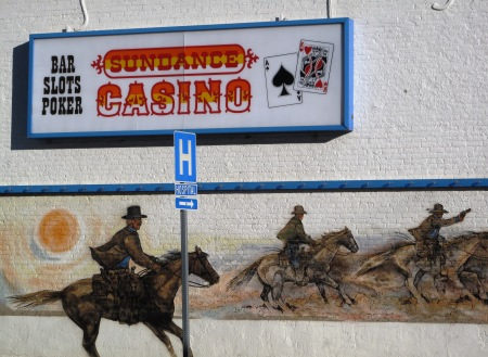 Casino mural in Winnemucca, Nevada